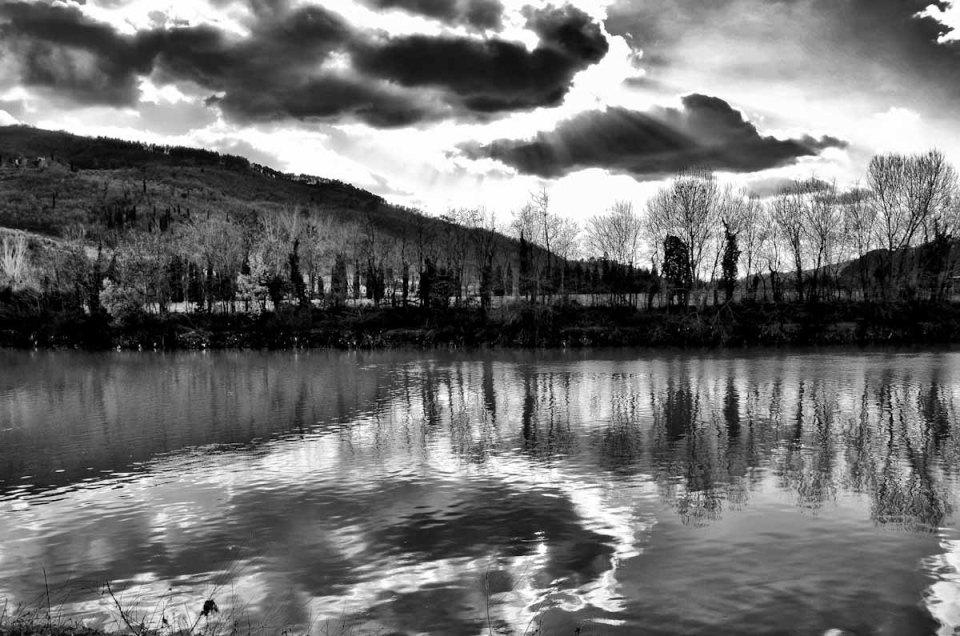 Paesaggio fotografico in Bianco e Nero
